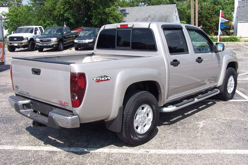 2005 GMC Canyon 4dr Crew Cab Z71 SLE 4WD SB - Glen Burnie MD