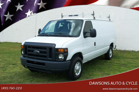 2013 Ford E-Series Cargo E-350 SD for sale at Dawsons Auto & Cycle in Glen Burnie MD