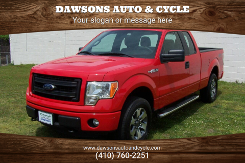 2014 Ford F-150 STX for sale at Dawsons Auto & Cycle in Glen Burnie MD