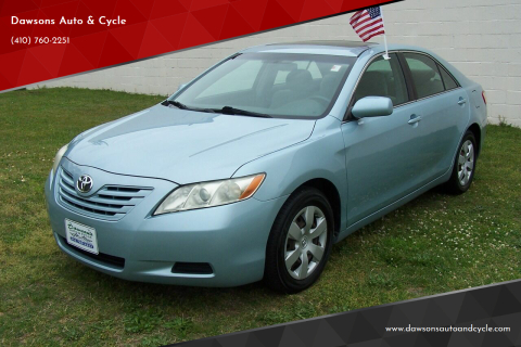 2007 Toyota Camry LE for sale at Dawsons Auto & Cycle in Glen Burnie MD