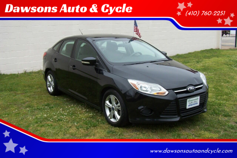 2013 Ford Focus SE for sale at Dawsons Auto & Cycle in Glen Burnie MD