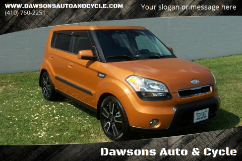 2010 Kia Soul for sale at Dawsons Auto & Cycle in Glen Burnie MD