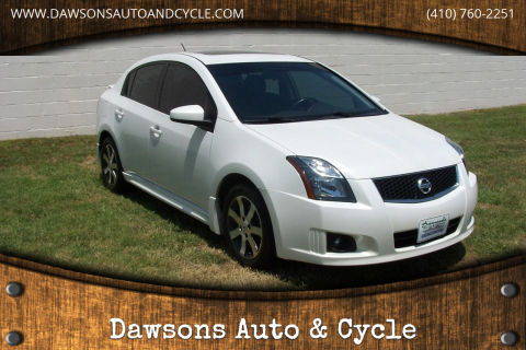 2011 Nissan Sentra for sale at Dawsons Auto & Cycle in Glen Burnie MD