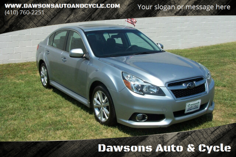 2013 Subaru Legacy for sale at Dawsons Auto & Cycle in Glen Burnie MD
