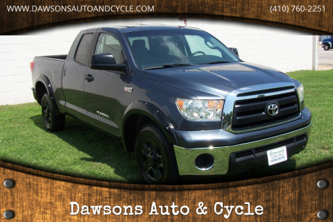 2010 Toyota Tundra for sale at Dawsons Auto & Cycle in Glen Burnie MD