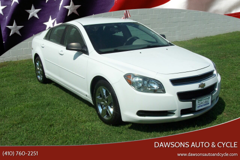 2010 Chevrolet Malibu for sale at Dawsons Auto & Cycle in Glen Burnie MD