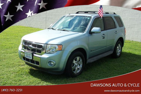 2009 Ford Escape Hybrid for sale at Dawsons Auto & Cycle in Glen Burnie MD