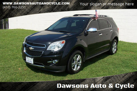 2012 Chevrolet Equinox for sale at Dawsons Auto & Cycle in Glen Burnie MD