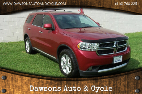 2013 Dodge Durango for sale at Dawsons Auto & Cycle in Glen Burnie MD