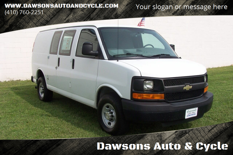 2014 Chevrolet Express Cargo for sale at Dawsons Auto & Cycle in Glen Burnie MD