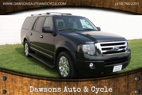 2011 Ford Expedition EL for sale at Dawsons Auto & Cycle in Glen Burnie MD