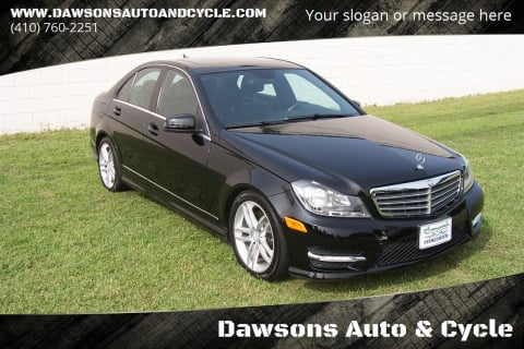 2013 Mercedes-Benz C-Class for sale at Dawsons Auto & Cycle in Glen Burnie MD