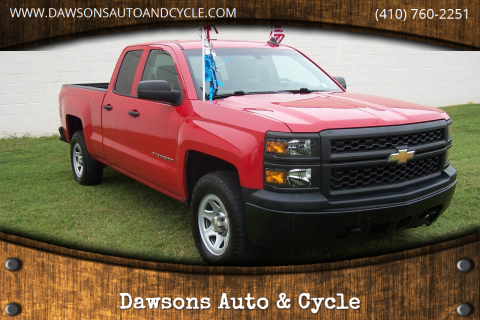 2015 Chevrolet Silverado 1500 for sale at Dawsons Auto & Cycle in Glen Burnie MD