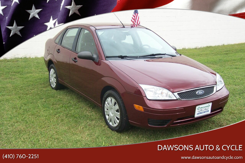 2006 Ford Focus for sale at Dawsons Auto & Cycle in Glen Burnie MD