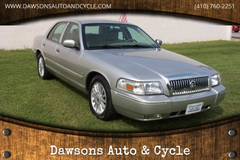 2011 Mercury Grand Marquis for sale at Dawsons Auto & Cycle in Glen Burnie MD