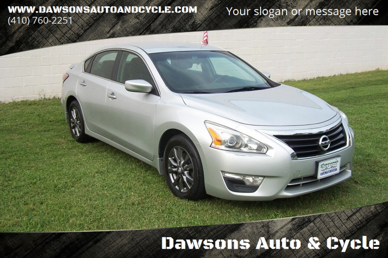 2015 Nissan Altima for sale at Dawsons Auto & Cycle in Glen Burnie MD
