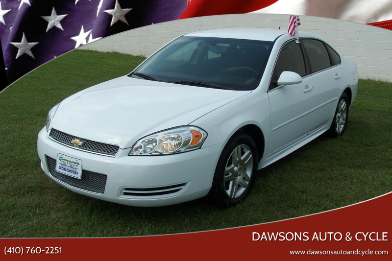 2016 Chevrolet Impala Limited for sale at Dawsons Auto & Cycle in Glen Burnie MD