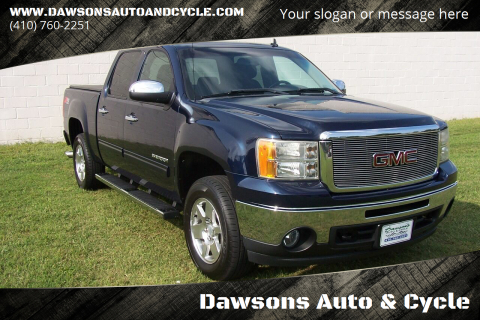 2010 GMC Sierra 1500 for sale at Dawsons Auto & Cycle in Glen Burnie MD