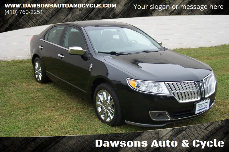 2012 Lincoln MKZ for sale at Dawsons Auto & Cycle in Glen Burnie MD