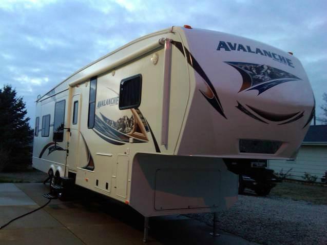 2013 Keystone Avalanche 343rs In Wayne Ne Quality Auto Sales