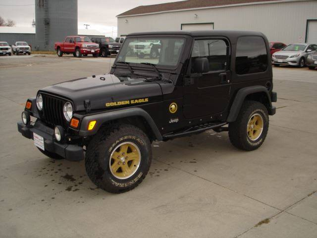 2006 jeep wrangler golden eagle in wayne ne quality auto. Black Bedroom Furniture Sets. Home Design Ideas