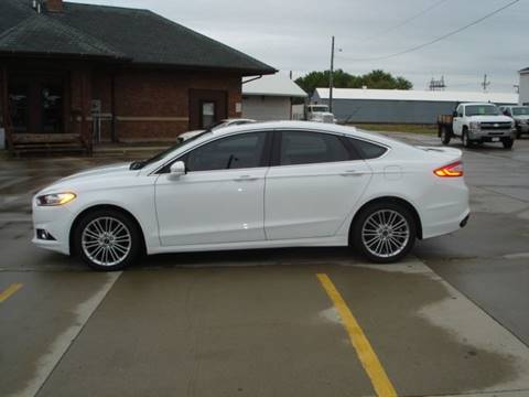 2015 Ford Fusion for sale in Wayne, NE