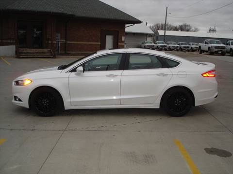 2016 Ford Fusion for sale in Wayne, NE