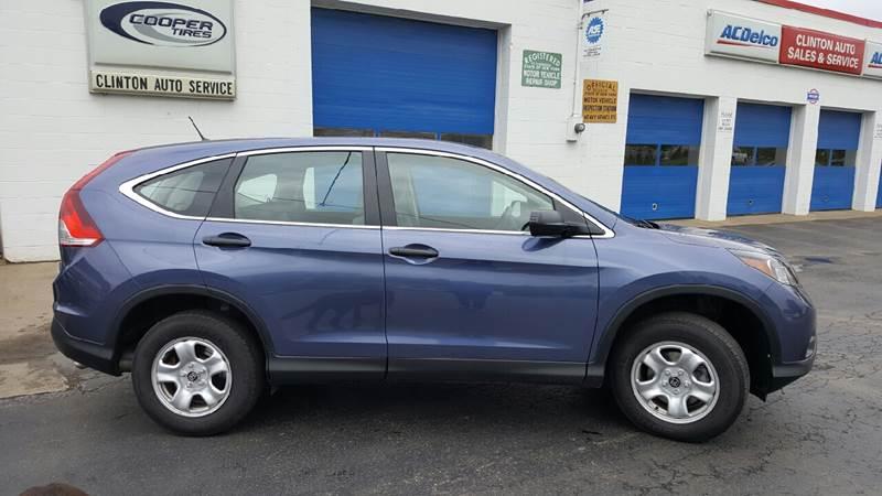 2014 Honda CR-V for sale at Clinton Auto Service - Sales in Clinton NY