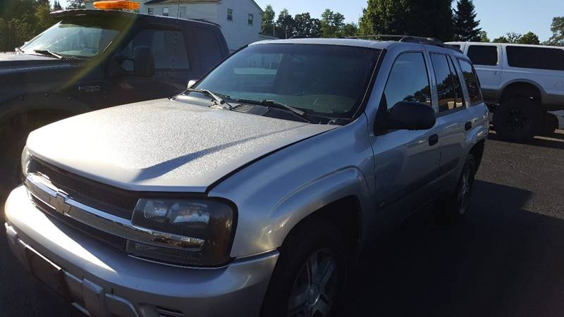 2004 Chevrolet TrailBlazer for sale at Clinton Auto Service - Sales in Clinton NY