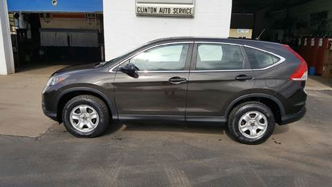 2014 Honda CR-V for sale at Clinton Auto Service - Sales in Clinton NY