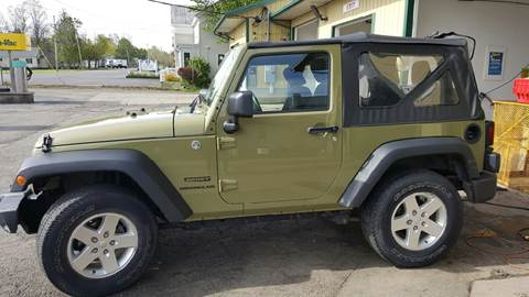 2013 Jeep Wrangler for sale at Clinton Auto Service - Sales in Clinton NY