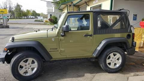 2013 Jeep Wrangler for sale at Clinton Auto Service - Sales in Clinton NY