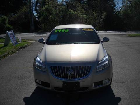 2011 Buick Regal for sale at Auto Sales Sheila, Inc in Louisville KY