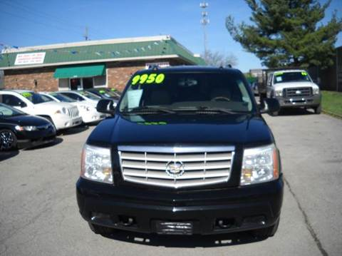 2005 Cadillac Escalade for sale at Auto Sales Sheila, Inc in Louisville KY