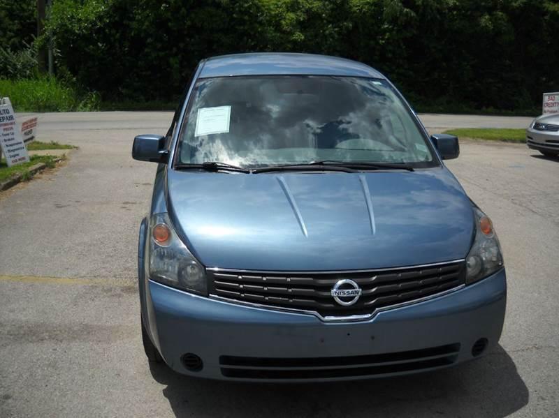 2008 Nissan Quest 35 S 4dr Mini Van In Louisville Ky Auto Sales