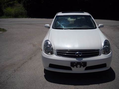 2006 Infiniti G35 for sale at Auto Sales Sheila, Inc in Louisville KY