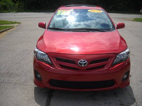 2013 Toyota Corolla for sale at Auto Sales Sheila, Inc in Louisville KY