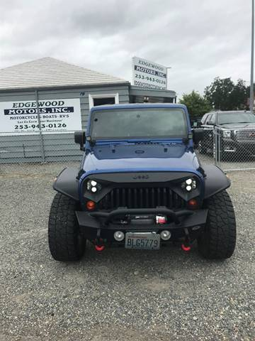 2009 Jeep Wrangler Unlimited for sale in Tacoma, WA