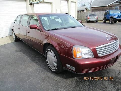 2000 Cadillac Deville Professional for sale in Mc Cordsville, IN