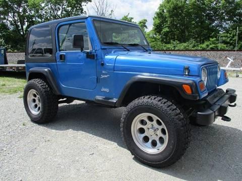1999 Jeep Wrangler for sale in Mc Cordsville, IN