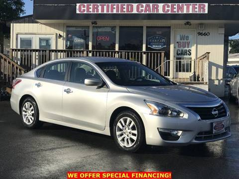 2013 Nissan Altima for sale in Fairfax, VA