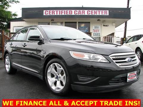 2010 Ford Taurus for sale in Fairfax, VA