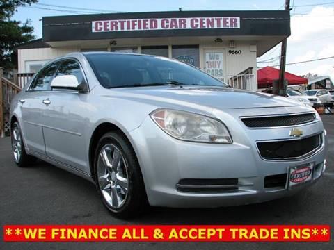 2012 Chevrolet Malibu for sale in Fairfax, VA