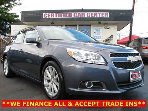 2013 Chevrolet Malibu for sale in Fairfax, VA