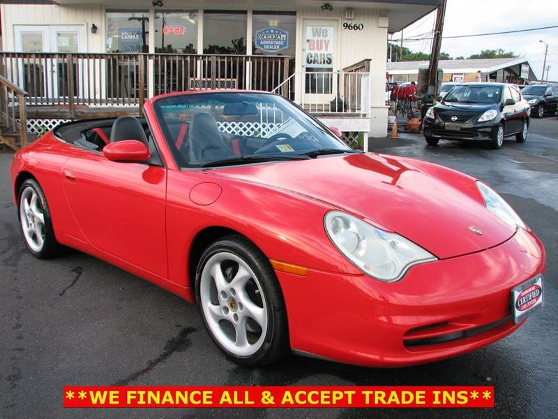 2002 Porsche 911 AWD Carrera 4 2dr Cabriolet - Fairfax VA