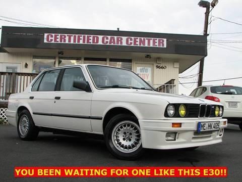 1987 BMW 3 Series For Sale  Carsforsalecom