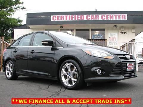2012 Ford Focus for sale in Fairfax, VA