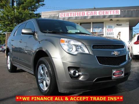 2013 Chevrolet Equinox for sale in Fairfax, VA