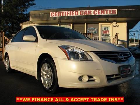 2012 Nissan Altima for sale in Fairfax, VA