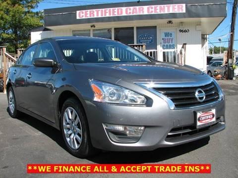 2014 Nissan Altima for sale in Fairfax, VA